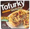 Tofurky Vegan Sausage & Veggie Quiche