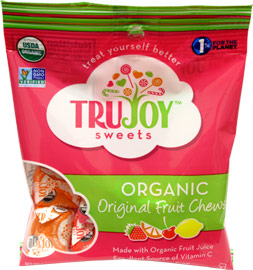 Organic Fruit Chews by TruJoy Sweets
