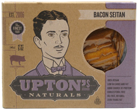 Bacon Style Seitan Strips by Upton's Naturals