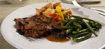 Vegan Grilled Flank Steak Au Jus by Veggie Brothers