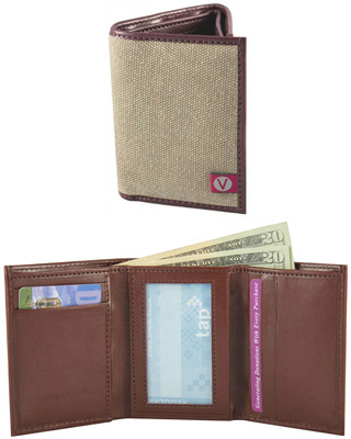 Camden Canvas Wallet by The Vegan Collection