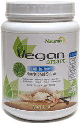 Vegan Smart All-In-One Nutritional Shake Mix by Naturade