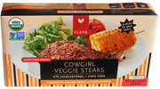 Organic Cowgirl Veggie Steaks by Viana