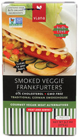 Smoked Veggie Frankfurters by Viana
