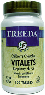 Children's Vitalets Chewable Multi-Vitamins by Freeda