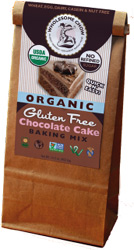 Organic Gluten-Free Chocolate Cake Baking Mix by Wholesome Chow