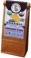 Organic Gluten-Free Lavender Cake Baking Mix by Wholesome Chow
