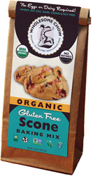 Organic Gluten-Free Scone Baking Mix by Wholesome Chow