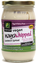 NayoWhipped Vegan Sandwich Spread by Nasoya
