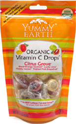 Organic Vitamin C Drops by Yummy Earth