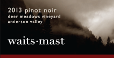 2013 Waits-Mast Pinot Noir, Deer Meadows Vineyard, Anderson Valley