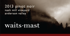 Waits-Mast Pinot Noir, Nash Mill Vineyard