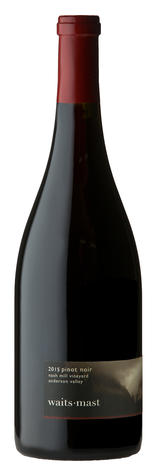2015 Waits-Mast Pinot Noir, Nash Mill Vineyard, Anderson Valley
