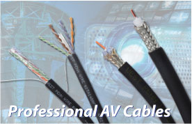 Professional AV Cables