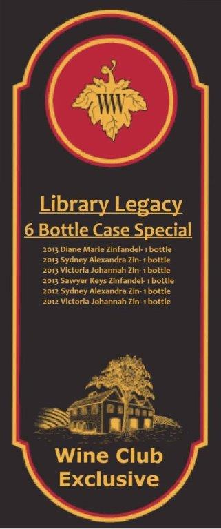 Library Legacy 6 Bottle Special