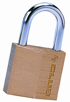 "Solid Brass 30mm (1-3/16"") Padlock"