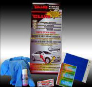 The Club DNA Vehicle Etching System