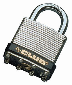 "Steel Laminated 40mm (1-9/16"") Padlock"