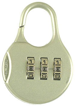 Resettable Luggage Lock