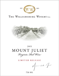2015 Mount Juliet Red - Limited Release THUMBNAIL