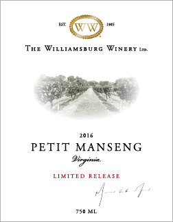 2016 Petit Manseng Limited Release