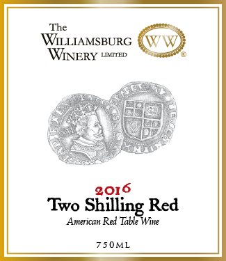 2016 Two Shilling Red