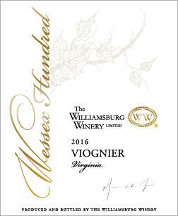 2016 Wessex Hundred Viognier
