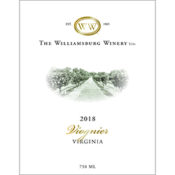 2018 Virginia Viognier THUMBNAIL