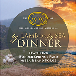 By Lamb or By Sea Dinner