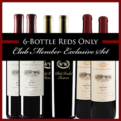 6-Bottle Reds Only Club Member Exclusive Set THUMBNAIL