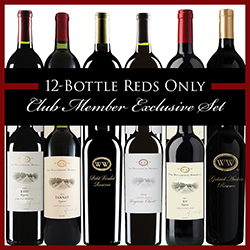 12-Bottle Reds Only Club Member Exclusive Set THUMBNAIL