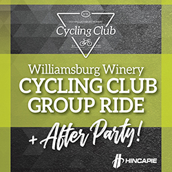 Williamsburg Winery Cycling Club Group Ride