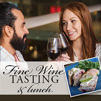 Tasting of Fine Wines plus Lunch (Online Offer Only)