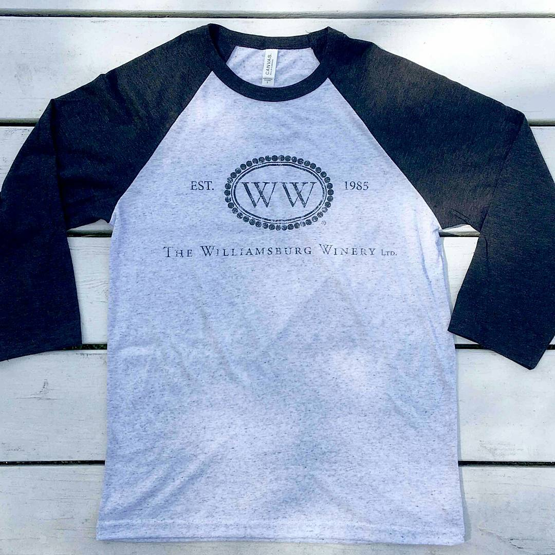 Williamsburg Winery Baseball T-Shirt