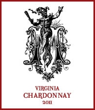 The Williamsburg Winery Matthew's Chardonnay 2011