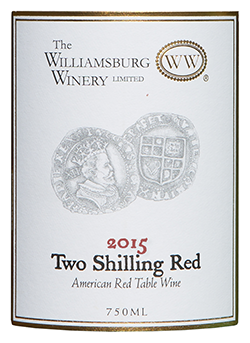 2015 Two Shilling Red
