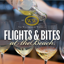 Flights and Bites at the Beach