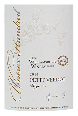 2015 Wessex Hundred Petit Verdot