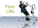 ArjoHuntleigh Floor Lifts Transfer Sitting Patients to a Standing Position