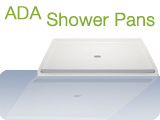 ADA Roll In Shower Pans Bestbath