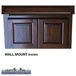 "36"" ADA Compliant Wheelchair Vanity Cabinet, Premium Series LARGE"