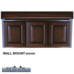 "42"" ADA Compliant Wheelchair Vanity Cabinet, Premium Series LARGE"