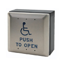 Square Wireless Push Plate Wall Switch THUMBNAIL