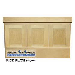 wheelchair accessible vanity cabinet sink