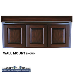 "48"" ADA Compliant Wheelchair Vanity Cabinet, Premium Series LARGE"