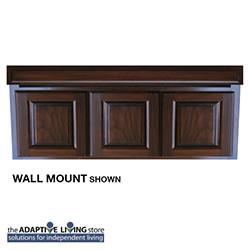 "54"" ADA Compliant Wheelchair Vanity Cabinet, Premium Series LARGE"
