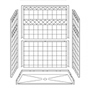 "60"" x 30"" Barrier-Free Accessible Shower with .75"" Beveled Entry SWATCH"
