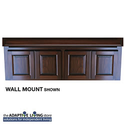 "60"" ADA Compliant Wheelchair Vanity Cabinet, Premium Series LARGE"