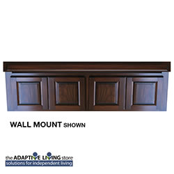 "72"" ADA Compliant Wheelchair Vanity Cabinet, Premium Series LARGE"