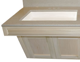 ADA Cabinet Sink Top